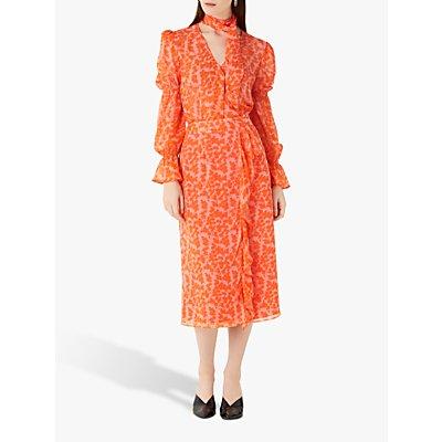 Finery Lisson Abstract Midi Skirt, Multi