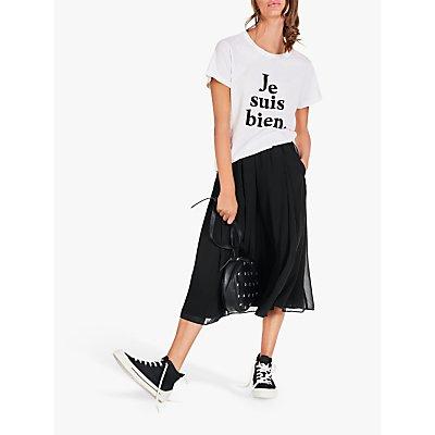 hush Martina Midi Skirt, Black