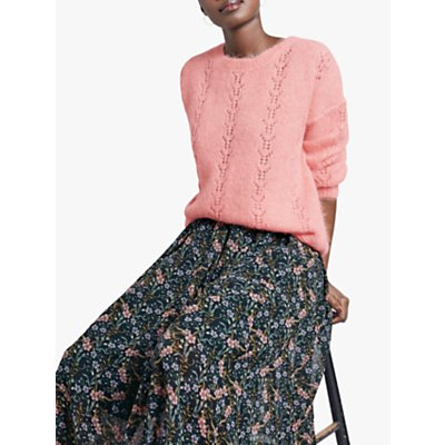hush Martina Floral Printed Midi Skirt, Ditsy Floral