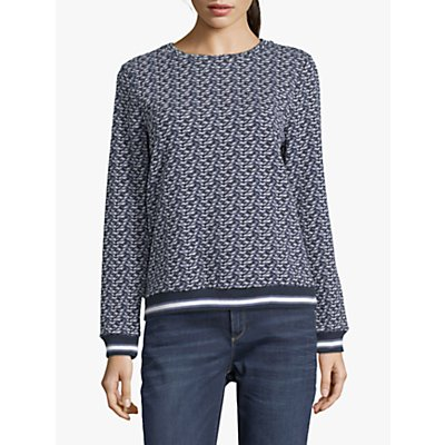 Betty Barclay Textured Top, Blue
