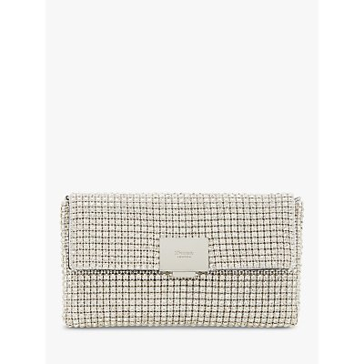Dune Evanderr Diamante Embellished Clutch Bag
