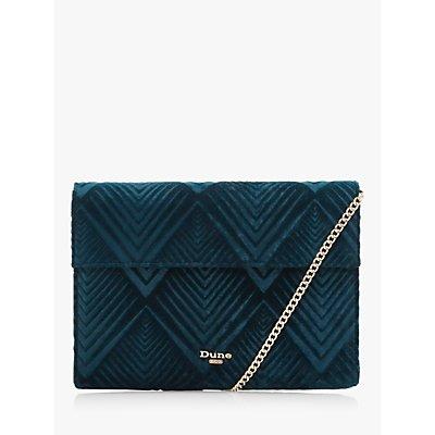 Dune Ebrina Velvet Clutch Bag
