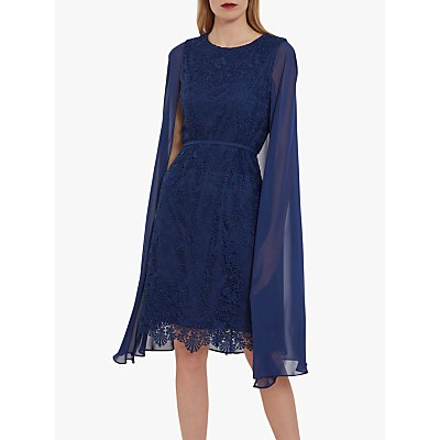 Gina Bacconi Sansa Dress with Cape