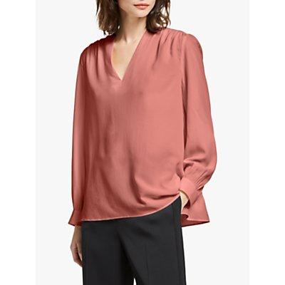 Modern Rarity Silk V Neck Top