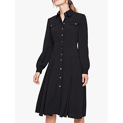 Damsel In A Dress Sancia Trench Dress, Black