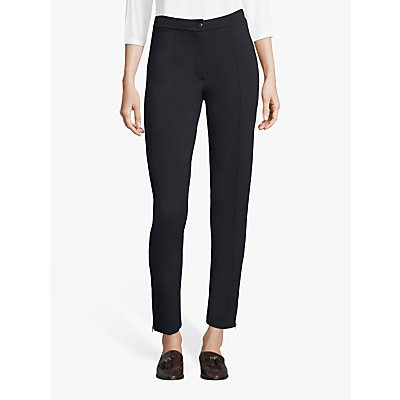 Betty Barclay Ankle Zip Detail Straight Trousers
