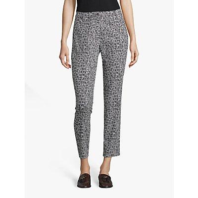 Betty Barclay Alphabet Trousers, Black/Grey
