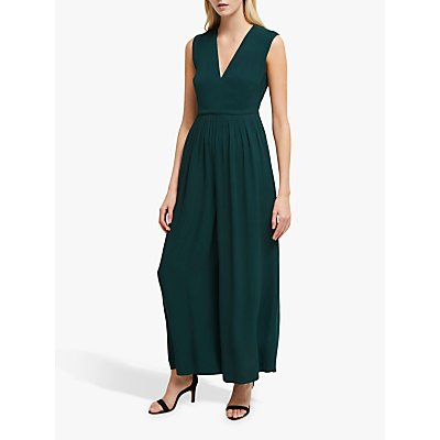 French Connection Carrabelle Crepe Pleated Jumpsuit