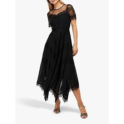 Monsoon Melissa Lace Chevron Hanky Dress