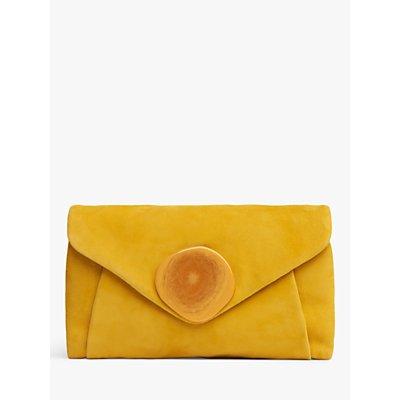L.K.Bennett Olivia Suede Clutch Bag