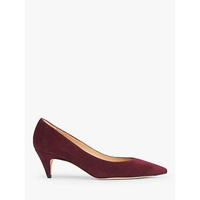 L.K.Bennett Pawla Court Shoes, Burgundy
