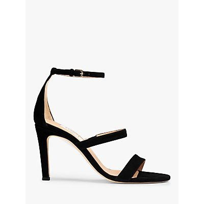 L.K.Bennett Nina Suede Sandals, Black