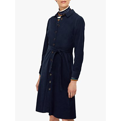 Monsoon Coralie Midi Dress, Navy