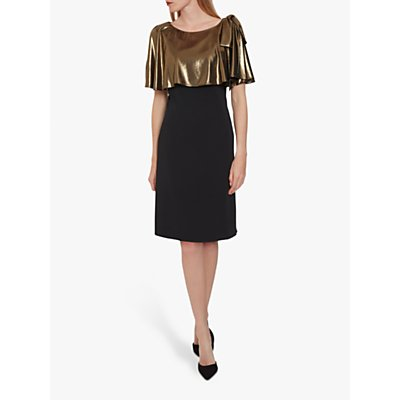 Gina Bacconi Amari Crepe Dress
