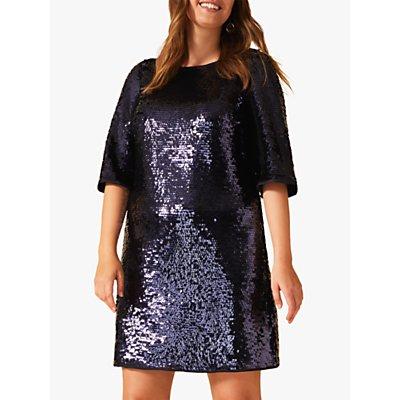 Studio 8 Martha Sequin Tunic Dress, Blue