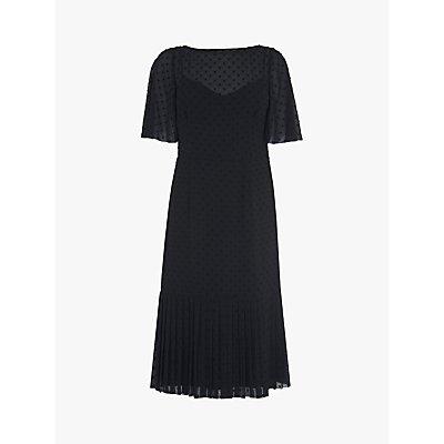 L.K.Bennett Boe Textured Spot Dress