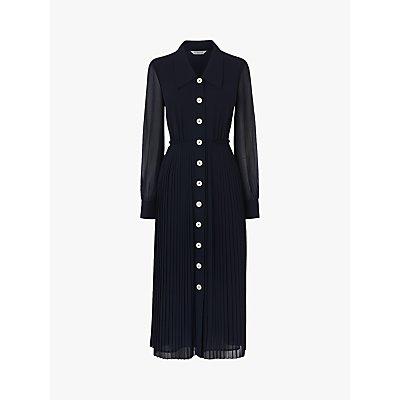 L.K.Bennett Fozette Pleated Shirt Dress