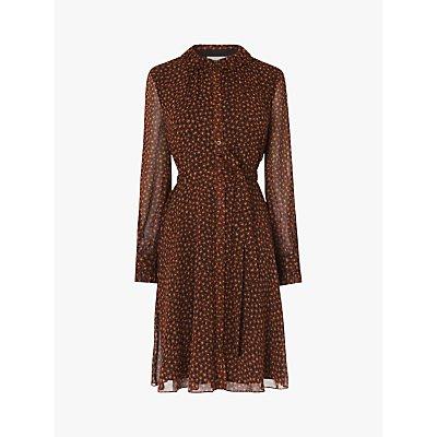 L.K.Bennett Eliza Leopard Print Dress, Multi Leopard