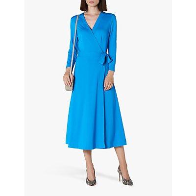 L.K.Bennett Juno Wrap Dress, Aqua