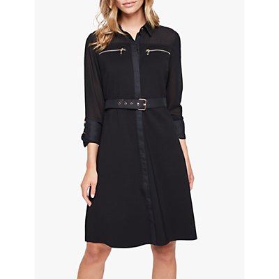 Damsel in a Dress Isidore Shirt Dress, Black