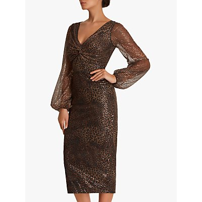 Fenn Wright Manson Amanda Holden Collection Jane Dress, Gold
