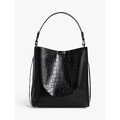 AllSaints Polly Tote Bag, Black