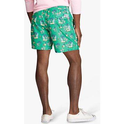 Polo Ralph Lauren Coconut Flamingos Swim Shorts, Coconut Flamingos