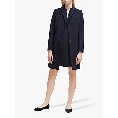 French Connection Wool Platform Felt Smart Coat