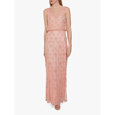 Gina Bacconi Drea Beaded Maxi Dress
