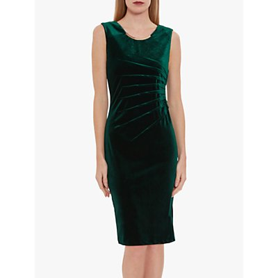 Gina Bacconi Gaela Velvet Shift Dress