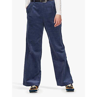 Brora Jumbo Wide Leg Corduroy Trousers