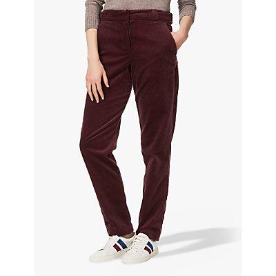Brora Cotton Corduroy Slim Trousers