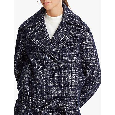 Club Monaco Wrap Coat, Navy