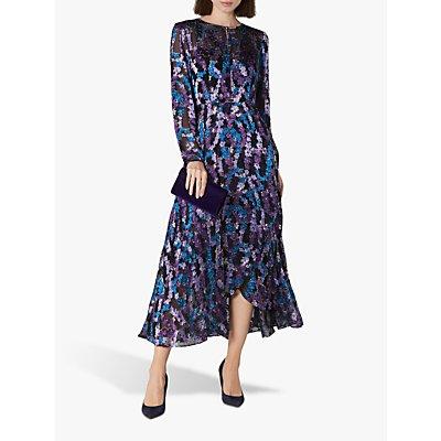 L.K.Bennett Roe Dress, Blue/Multi
