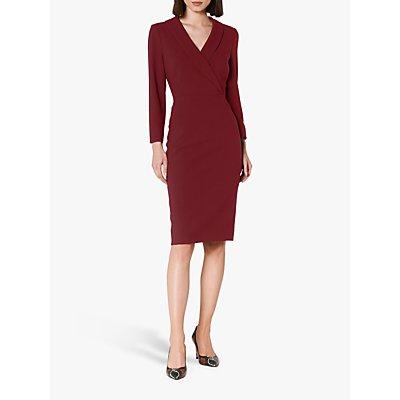 L.K.Bennett Effie Wrap Tailored Dress