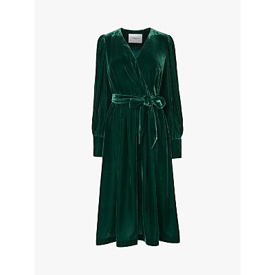 L.K.Bennett Roman Wrap Dress, Green