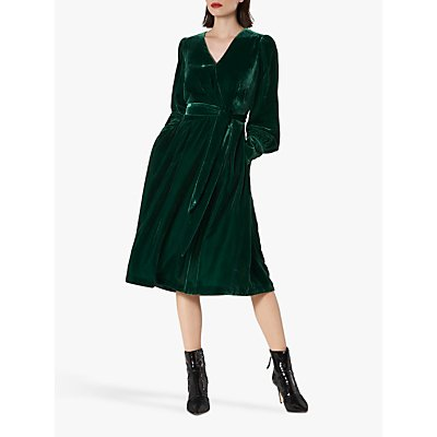 L.K.Bennett Roman Wrap Dress, Green