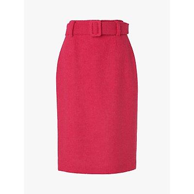 L.K.Bennett Earnest Wool Blend Pencil Skirt