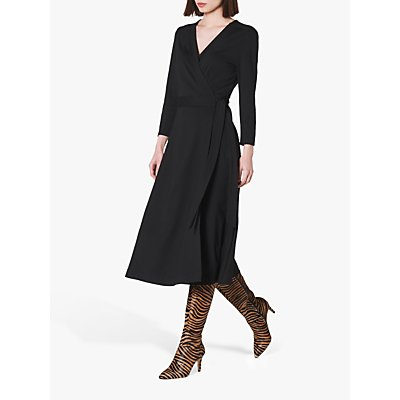 L.K.Bennett Juno Wrap Dress, Black