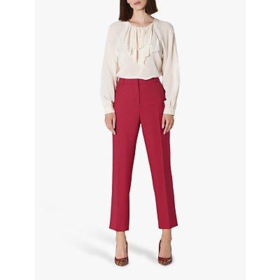 L.K.Bennett Floyd Tailored Trousers, Pink