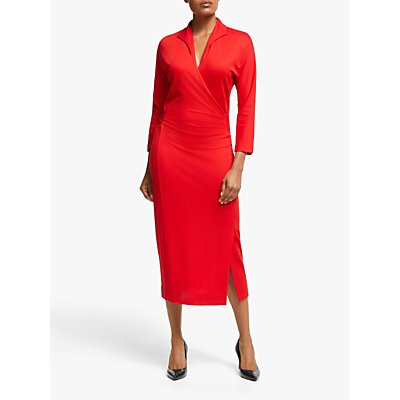 Winser London Wrap Dress, Hollywood Red