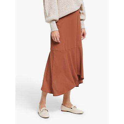 Modern Rarity Hanky Hem Skirt, Orange