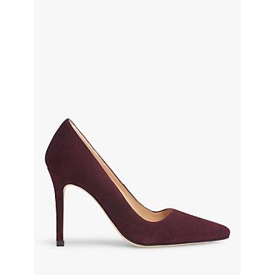 L.K.Bennett Katie Stiletto Heel Suede Court Shoes