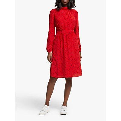 Boden Lucinda Dress, Poinsettia Spot