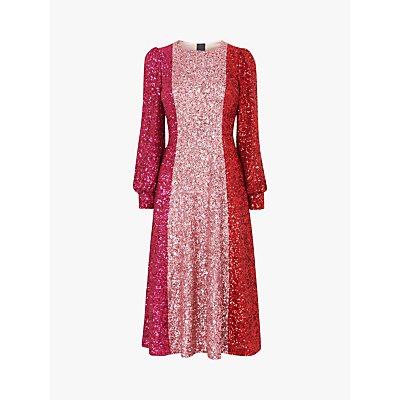 L.K.Bennett Fitzgerald Sequin Dress, Multi