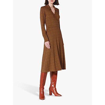 L.K.Bennett Enya Dress, Brown