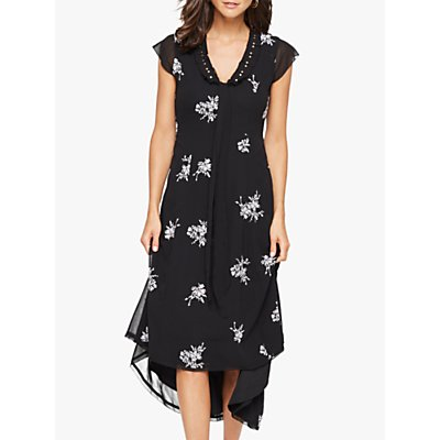 Damsel in a Dress Mirna Floral Embroidered Dress, Black