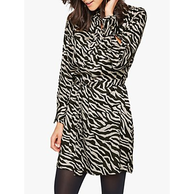 Damsel in a Dress Aimee Zebra Tunic Dress, Neutral