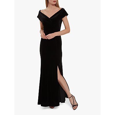 Gina Bacconi Lyness Velvet Dress