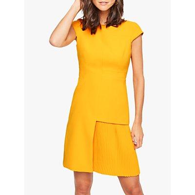 Damsel in a Dress Zeeka Pleat Dress, Marigold